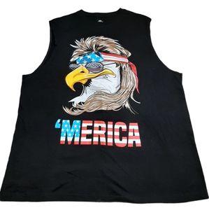 Merica Joe Dirt Special Sleeveless Shirt Size XL